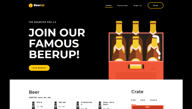 beerup portfolio featured