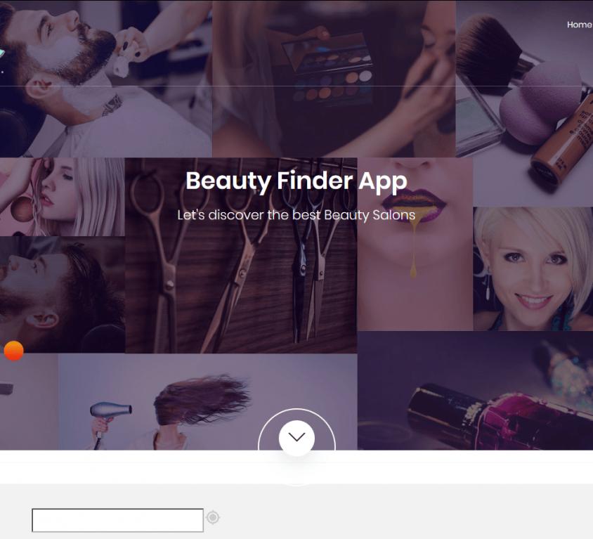 Beauty Shop Finder